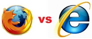 Firefox vs IE